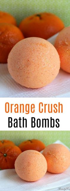 Orange Crush Bath Bomb Recipe - Easy DIY Orange Bath Bombs, for a refreshing therapeutic bath . great as a homemade gift. Orange Crush Bath Bomb Recipe - Easy DIY Orange Bath Bombs, for a refreshing therapeutic bath . great as a homemade gift. Diy Beauté, Diy Spa, Easy Diy, Fun Diy, Simple Diy, Homemade Beauty, Homemade Gifts, Diy Gifts, Homemade Scrub