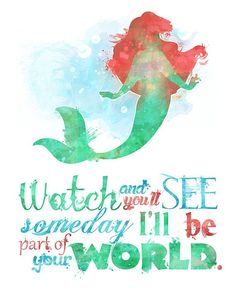 Little Mermaid quote