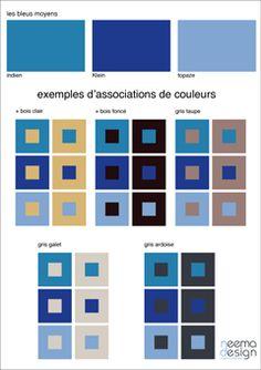 nuancier bleus