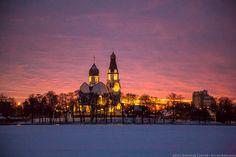 Закат в Сестрорецке | Профессиональный фотограф Колосов Сергей