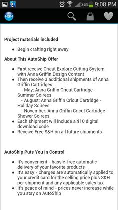 Description of Cricut Explore - page 4