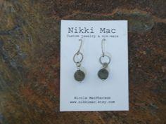 Labradorite Earrings by NikkiMac on Etsy, $10.00