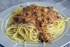 Bolognese Sauce - mal anders - mit Spaghetti
