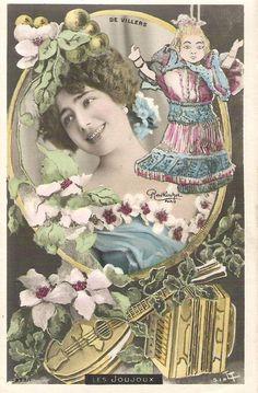 De Villers.  Reutlinger Postcard.  Les Joujoux.  SIP Series 899/1
