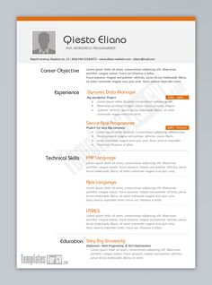 resume examples great 10 ms word resume templates free download free - Word Resume Samples