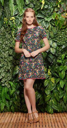 Vestido Jardim Dos Cervos | Vestuário | Antix Store
