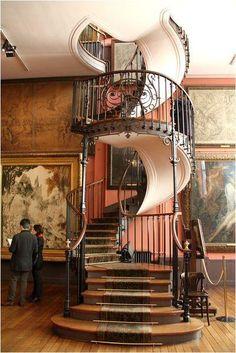 Magnifique escalier - Musée Gustave Moreau