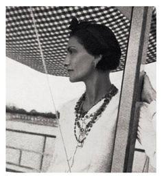 Gabrielle 'Coco' Chanel (54) - 1937 - Venice - Vogue Paris, November 1937