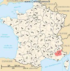 carte de la provence