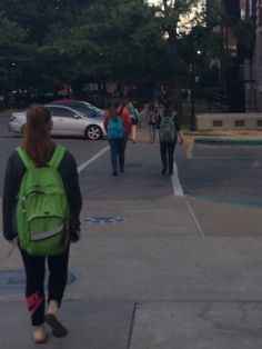 Saw these two friends walking to their and conversing. Typically unheard of here on campus. Hardly anyone ever talks to one another, especially before Research Outline, Under Armour, Walking, Backpacks, Friends, Bags, Amigos, Handbags, Walks