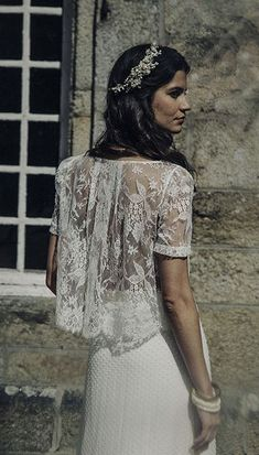 Exclusive UK stockist to Laure de Sagazan, a Parisian bridal designer who creates the most stunning bohemian inspired wedding dresses. Pnina Wedding Dresses, Bridal Dresses 2017, 2017 Bridal, Mode Inspiration, Wedding Inspiration, Mod Wedding, Chic Wedding, Laura Lee, Bridal Collection