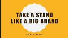 Take a Stand Like a