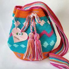 Bolsa Wayuu Cores do Verão