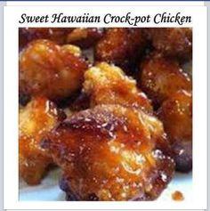 Sweet Hawaiian Crockpot Chicken.