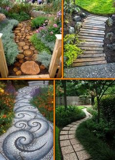 Are you thinking of making a pathway for your garden? Here are 40 ideas that might inspire you! View the full album of our collection at http://theownerbuildernetwork.co/h38u Feeling inspired?