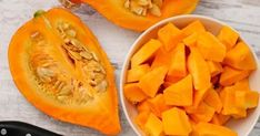 Don't wait for Halloween to roll around again to make pumpkin a regular part of your diet. - Provided by Zero Belly Diet Top 10 Healthy Foods, Healthy Recipes, Pumpkin Recipes, Fall Recipes, Pumpkin Pumpkin, Natural Remedies For Diarrhea, Fruit Orange, All Natural Vitamins, Snacks Saludables
