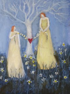 What My Mother Taught Me Tomanek original oil by EverywomanArt, $80.00