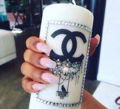 Chanel candle @theprincessgab
