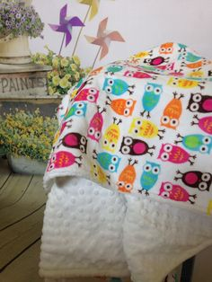 A personal favorite from my Etsy shop https://www.etsy.com/listing/228330602/minky-baby-blanketbaby-girl