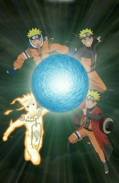Naruto evolution - Odama rasengan