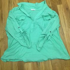 Mint 3/4 sleeve shirt! Gently worn! Sonoma Tops