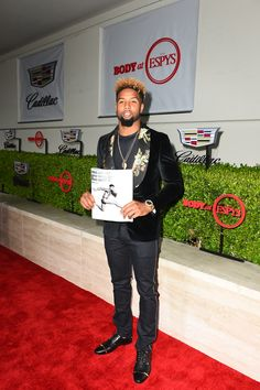 Widely and well received at this year's ESPYS: Odell Beckham Jr. and the Grey Goose Old Fashioned cocktail