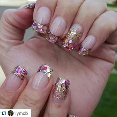 Glitz and Glamour Glitter mix from Glitter Heaven Australia by @lymcb
