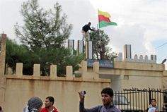Syrian Kurds are committing suicide by Rising Kurdish flag on SFA wins  The published Rhetoric is a very Powerful Argument that attracts inflammatory commentaries. Urban Accuracy Requires Profanity to honestly deliver opinion on Thesaurusly exhausted Fiction Fortified Rhetoric based on Googledjunk & Wikitrash. Now Shut-up, Sit-down & Listen to Lauren Williams The Daily Star.. Your discretion is advised   KURDISH MILITIA SEIZES KEY SYRIAN CITY