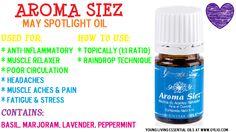 Spotlight Oil Of the Month ~ Aroma Siez <3 http://www.oylio.com/this-months-spotlight-oil/