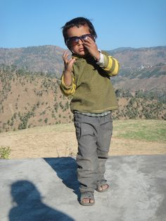 Cute pahadi boy