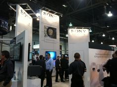 Sony booth..diggin' the lights