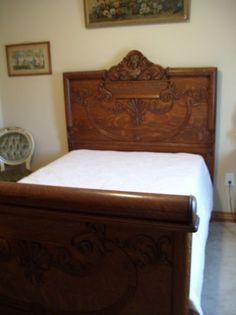 antique 3 4 bed 299 best Antique Beds images on Pinterest in 2018 | Antique beds  antique 3 4 bed