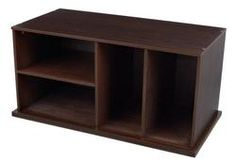 KidKraft Storage Unit With Shelves - Espresso $129.99 - from Well.ca