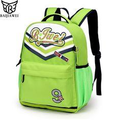 149608550e09 BAIJIAWEI Brand Children School Bags For Girls Boys Kids Backpack In  Primary School Backpacks Waterproof Mochila