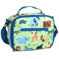 Wildkin Olive Kids Wild Animals Lunch Bag