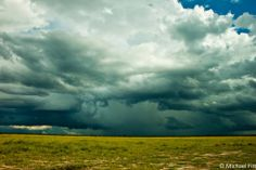 Botswana thunderstorm by Michael Fitt.