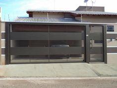 Aqui na Serralheria J. I - Cobertura Metálica Corrimão Escada Metálica Placa de Outdoor Portões em São temos Portão Basculante, Portão de Correr, Portão Eletrônico, etc