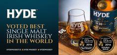 Hyde wins 2 world whiskey awards