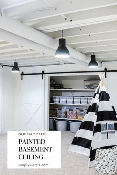 If you have a basement with a low ceiling, you may need some basement ceiling id. If you have a basement with a low ceiling, you may need some basement ceiling ideas to make it look Basement Remodel Diy, Basement Makeover, Basement Renovations, Home Remodeling, Basement Ideas, Basement Plans, Basement Designs, Basement Decorating, Decorating Ideas