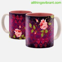 allthingsvibrant.com Make your morning vibrant, the next time you make yourself a hot cup of coffee or chai
