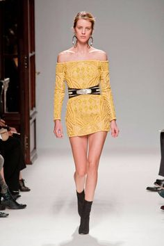 Balmain Spring 2013 Ready-to-Wear Runway - Balmain Ready-to-Wear Collection - ELLE