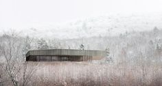 A mountainside home in Quebec — Design Hunter. Image Chevalier Morales Architects