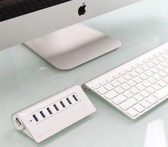 Satechi adds aluminum USB hub to its product line Usb Hub, Usb Flash Drive, Apple, Apple Fruit, Apples, Usb Drive
