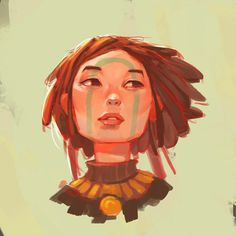 Faces on Behance . Character Drawing Illustration