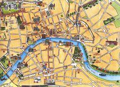 Pisa Tourist Map - Pisa Italy • mappery