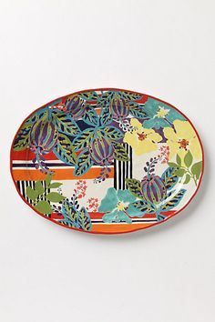 on the search to find wild looking kitchen ware like this :)  hello spring and summer....and lotsa garage sales :)