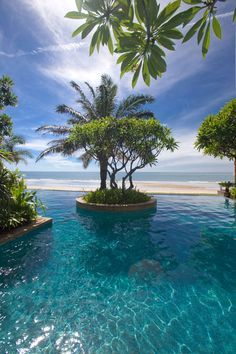 Hua Hin - Thailand Perfectly placed along. Aleenta Hua Hin - Thailand Perfectly placed along. Vacation Places, Dream Vacations, Vacation Spots, Beautiful Places To Travel, Beautiful Beaches, Hotel Swimming Pool, Tropical Beaches, Places Around The World, Beach Resorts