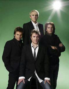 Duran Duran - Roger Taylor,Nick Rhodes,Simon Le Bon and John Taylor