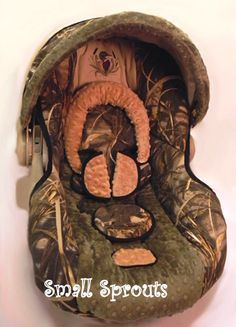 Duck Lover Boy Advantage Max 4HD/Tan & Hunter Green Minky Dot Infant Car Seat Cover 5 piece set by smallsproutsbaby on Etsy https://www.etsy.com/listing/243278953/duck-lover-boy-advantage-max-4hdtan