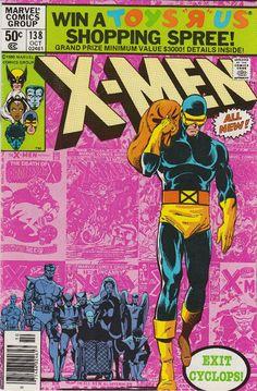 Uncanny X-Men #138.